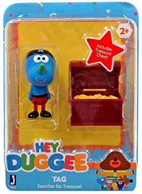 Hey Duggee Nick Jr Toy Tag Searches for Treasure