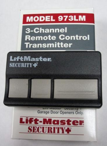 Liftmaster Remote 973 Ebay