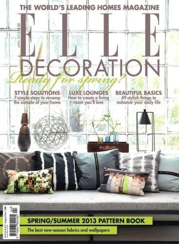 Elle Decor Magazine Back Issues Ebay