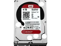 Western Digital WD4002FFWX 4TB RED PRO 128MB 3.5IN SATA 6GB/S 7200RPM New Warranty