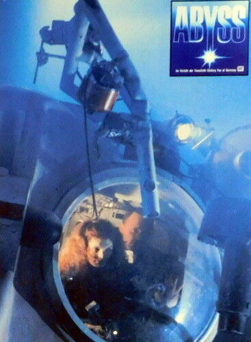James Cameron THE ABYSS lobby cards 24 original vintage stills 1989