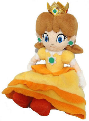Super Mario Bros Series 8in Princess Daisy Stuffed Plush Toy Doll](Mario Brothers Princess Daisy)