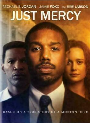 Just Mercy NEW DVD * DRAMA * MICHAEL B. JORDAN SHIPS NOW !