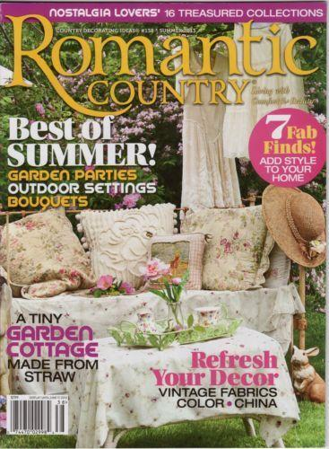 12 Back Issues 2017 Flea Market Decor, Vintage Style, Romantic Homes + More