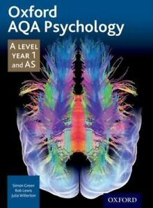 AQA Psychology: A Level: Year 1 & AS (Paperback, Oxford ) Green,  9781408527382