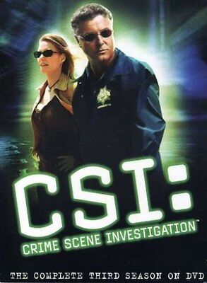 Csi   The Complete Third Season 3 New Sealed 6 Disc Dvd Set William L  Petersen