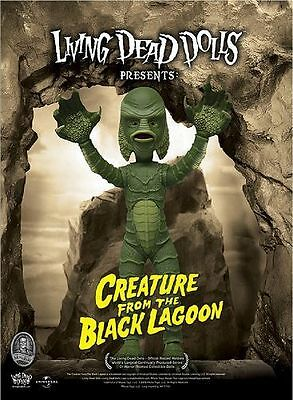 LIVING DEAD DOLLS CREATURE FROM THE BLACK LAGOON DOLL MEZCO - IN STOCK!