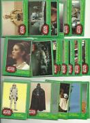Star Wars Cards 1977 Lot