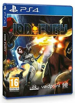 Ion Fury (PS4) BRAND NEW SEALED