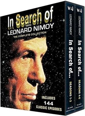 In Search Of with Leonard Nimoy :The Complete Collection (All 144 Episodes)     (Leonard Collection)