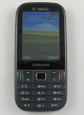 (Samsung T379 Gravity TXT T-Mobile Cell Phone Email + Home Chargr)