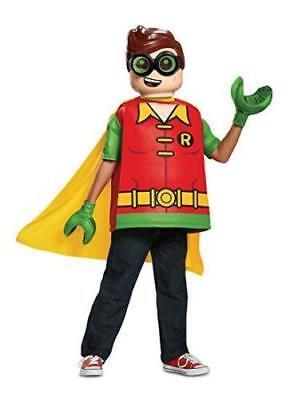 Robin Child Lego Batman Movie Robin Tunic Halloween Costume, No Pants, S - Robin Lego Kostüm