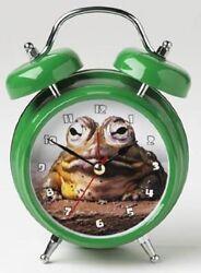 Mark Feldstein Wacky Wakers Bull Frog Alarm Clock USED #1232 u