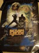 Star Wars Signed Movie Poster