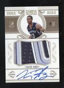 National Treasures Rookie Patch Auto