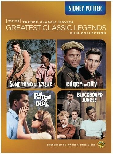 TCM Greatest Classic Legends Film Collection: Sidney Po (2013, REGION 1 DVD New)