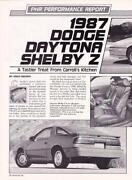 Dodge Daytona Shelby