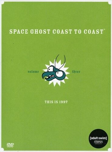 Space Ghost Coast to Coast, Vol. 3 [2 Discs] (2011, REGION 1 DVD New)