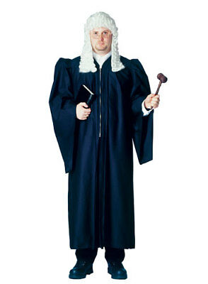 Judge Robe Adult Halloween Costume 48