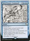 Cryptic Command Commander Individual Magic: The Gathering Cards