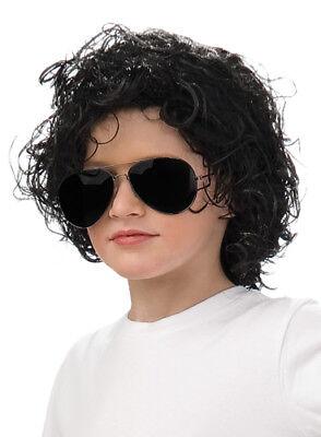 Child Michael Jackson Bad Album Curly Wig](Michael Jackson Wig)