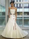 Corset Champagne Corset Wedding Dresses