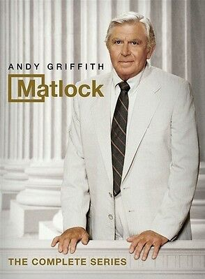 Matlock: The Complete Series DVD