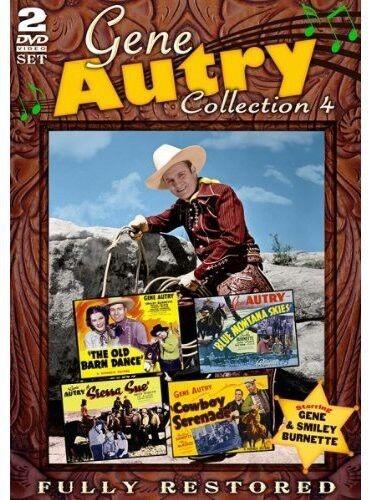 Gene Autry:  Movie Collection 4 - 2 DISC SET (2013, REGION 1 DVD New)