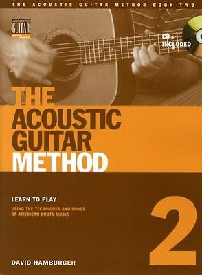 Acoustic Guitar Method Learn to Play Beginner Chord Music Book 2 & CD