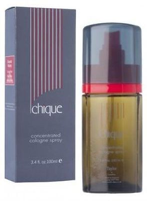TAYLOR OF LONDON CHIQUE 100ML CONCENTRATED COLOGNE SPRAY  BRAND NEW & BOXED