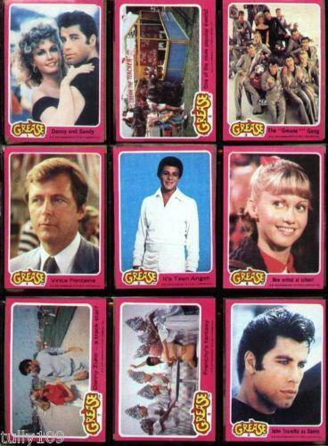 Grease Cards Ebay