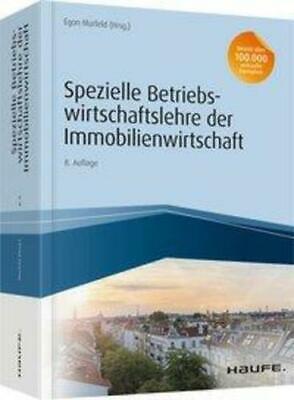 Spezielle Betriebswirtschaftslehre der Immobilienwirtschaft Egon Murfeld Buch