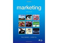 Uni /school Marketing text book 3rd edition paul baines ,chris fill
