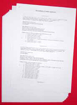 A3 100gsm Acid Free Archival Paper - 200 year guarantee 25 sheet pack for sale  Shipping to United States