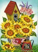 Sunflower Bird House