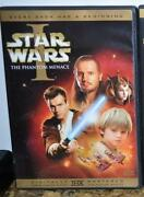 Star Wars Phantom Menace DVD