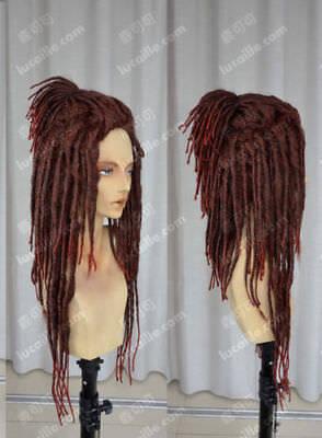 Dreadlock Wig (DMMd Mink Braid Dreadlocks Wig Dramatical Murder Cosplay Costume Party)