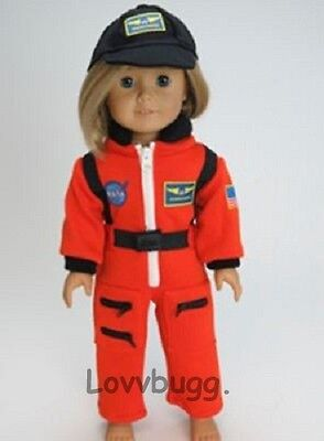 Nasa Astronaut W Hat Costume Clothes For 18  American Girl Doll Luciana Found It
