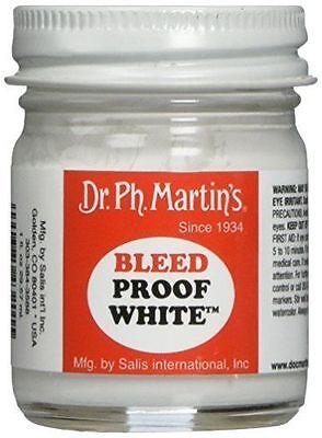 Dr Ph. Martin's Bleedproof White 30ml Jar - Bleed proof white ink ()