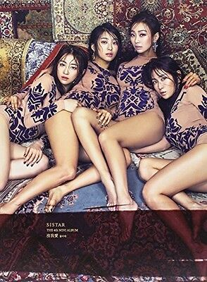 Sistar   Mol Ah Ae  4Th Mini Album   New Cd  Asia   Import