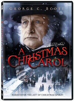 A CHRISTMAS CAROL New Sealed DVD George C Scott 1984 TV Movie