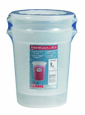 Cambro RFS8PPSW2190 8-Quart Round Food-Storage Container