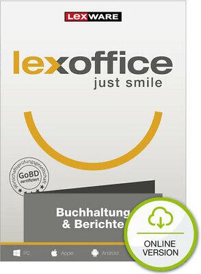 Lexoffice Buchhaltung+Berichte, 1 Jahr, Online-Buchhaltung Cloud