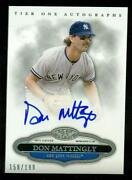 Don Mattingly Auto
