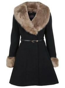 Fur Collar Coat | eBay