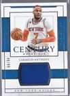 National Treasures Carmelo Anthony Basketball Trading Cards