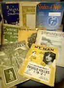 Old Sheet Music Lot