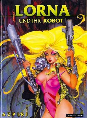 Lorna und Ihr Robot (Doppelband 1+2) HARDCOVER von Azpiri  NEUWARE