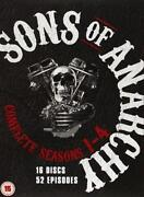 Sons of Anarchy Season 1-4 DVD