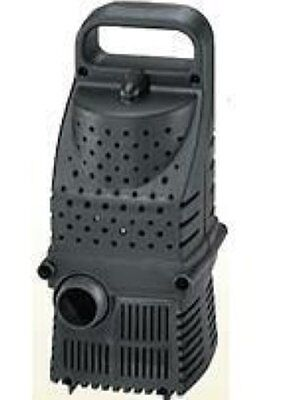 - SUPREME PONDMASTER PRO LINE HY DRIVE 6000 GPH WATERFALL PUMP POND PUMP 02683